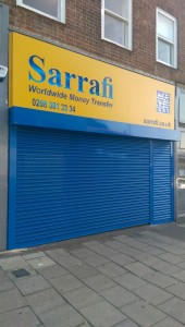 Electric roller shutter London