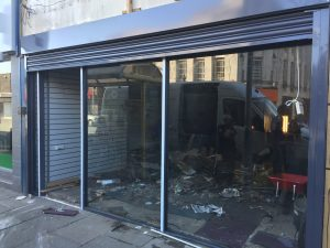 Shop front Installer South london