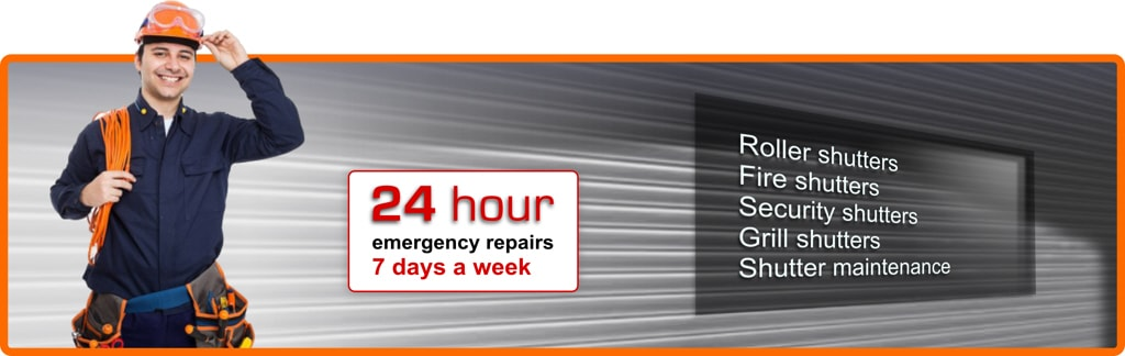 24/7 shutter repair west london
